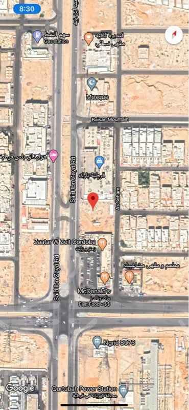 أرض للبيع في طريق سعيد ابن زيد ، الرياض ، الرياض