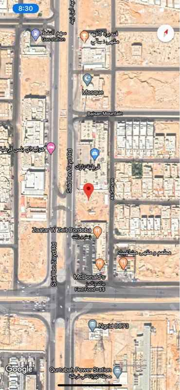 أرض للإيجار في طريق سعيد ابن زيد ، الرياض ، الرياض