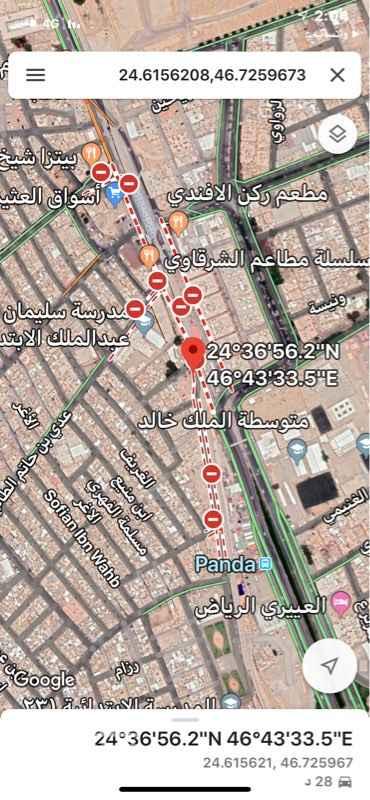 أرض للبيع في شارع البطحاء ، حي منفوحة الجديدة ، الرياض