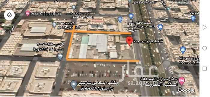 أرض للبيع في طريق الملك فهد ، حي مشرفة ، جدة ، جدة