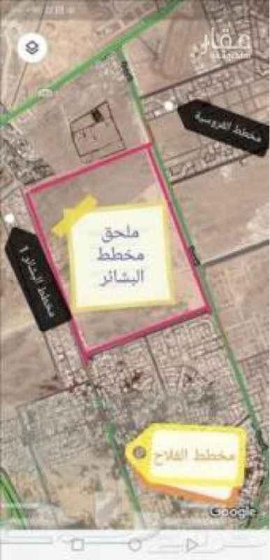أرض للبيع في شارع الفروسية ، حي البشائر ، جدة