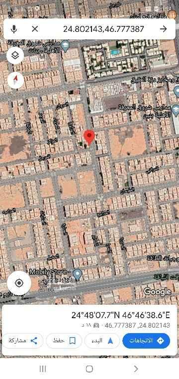أرض للبيع في شارع المليسان ، حي اليرموك ، الرياض ، الرياض