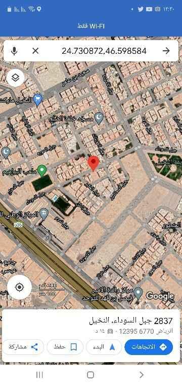 أرض للبيع في شارع جبل اسالم ، حي النخيل ، الرياض ، الرياض