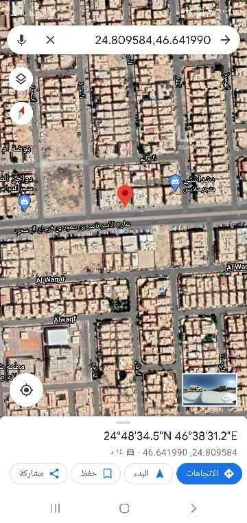 أرض للبيع في شارع اليمانية ، حي الصحافة ، الرياض ، الرياض
