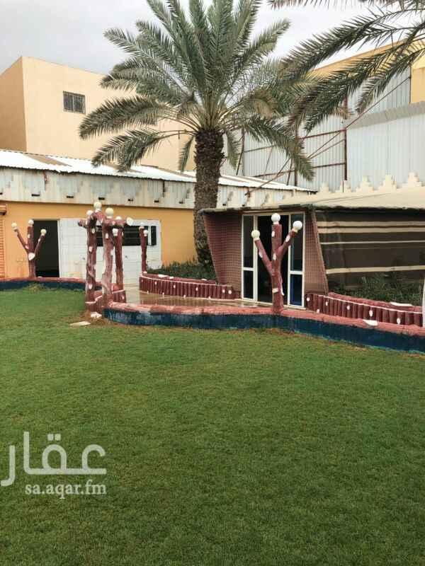 استراحة للإيجار في شارع الفجر ، حي المونسية ، الرياض