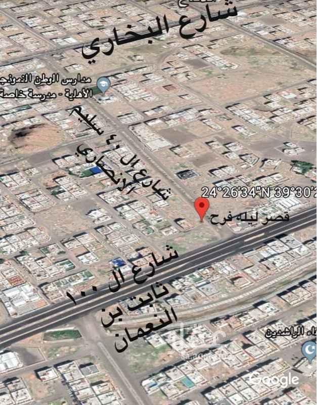 أرض للبيع في شارع الحسن بن الحر ، حي الرانوناء ، المدينة المنورة ، المدينة المنورة