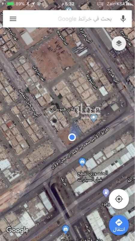 أرض للبيع في طريق الامير سعد بن عبدالرحمن الاول الفرعي, النسيم الشرقي, الرياض