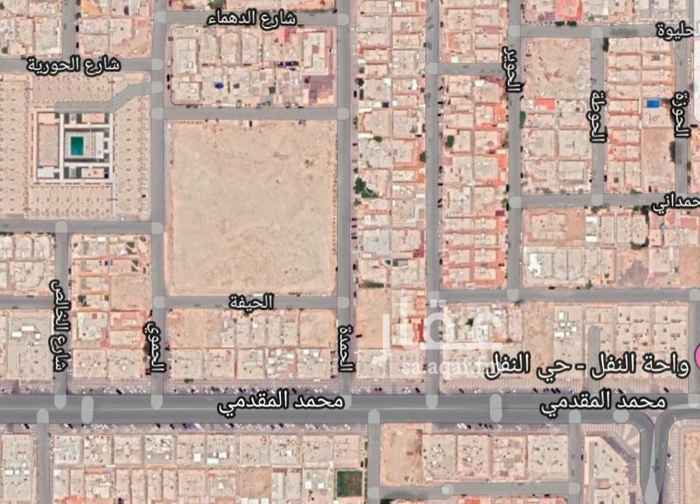 أرض للبيع في شارع الحوير ، حي النفل ، الرياض