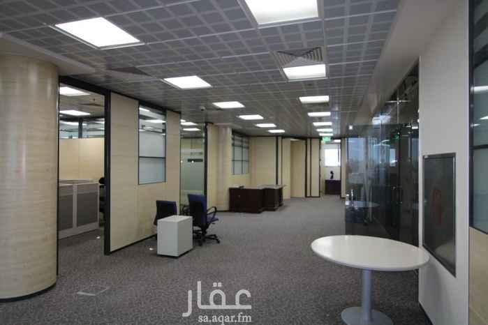 مكتب تجاري للإيجار في شارع المعذر ، حي السليمانية ، الرياض ، الرياض