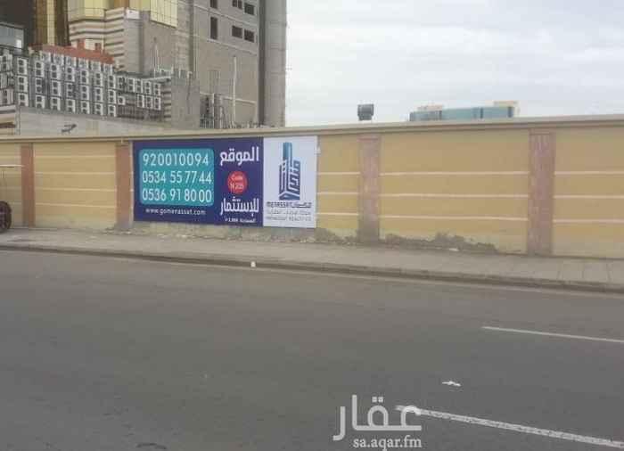 أرض للإيجار في طريق الكورنيش ، حي ابحر الجنوبية ، جدة ، جدة