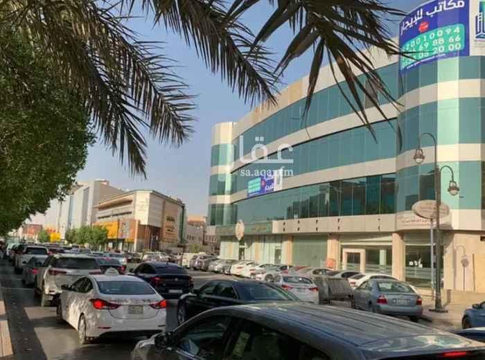 مكتب تجاري للإيجار في شارع الأمير عبدالعزيز بن مساعد بن جلوي ، حي السليمانية ، الرياض ، الرياض