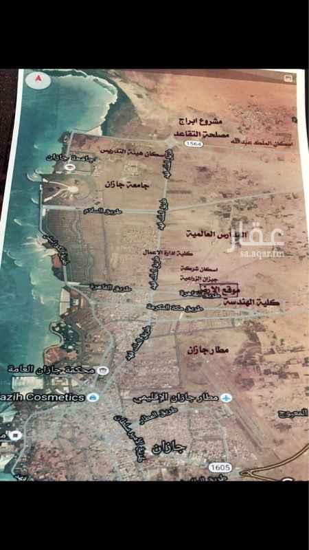 أرض للبيع في طريق الملك فهد ، جازان ، جزان