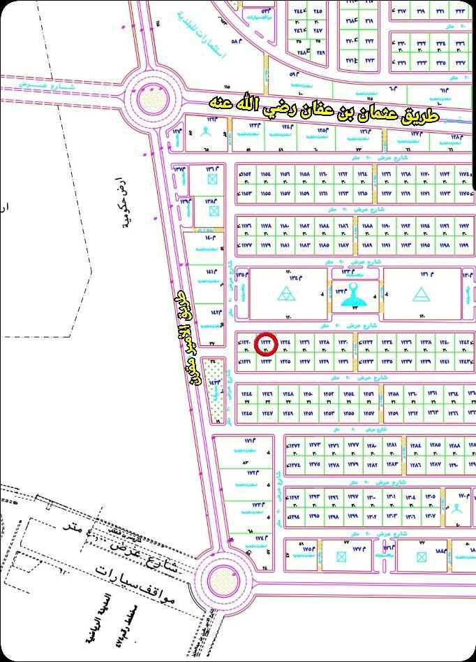 أرض للبيع في شارع الأمير مقرن بن عبدالعزيز ، المجمعة ، المجمعة