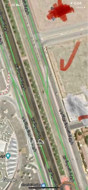 أرض للبيع في طريق الملك عبدالعزيز ، حي النهضة ، جدة ، جدة