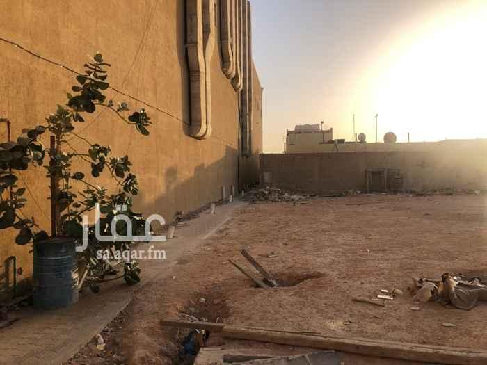 أرض للإيجار في شارع احمد الفاسي ، حي النسيم الغربي ، الرياض ، الرياض