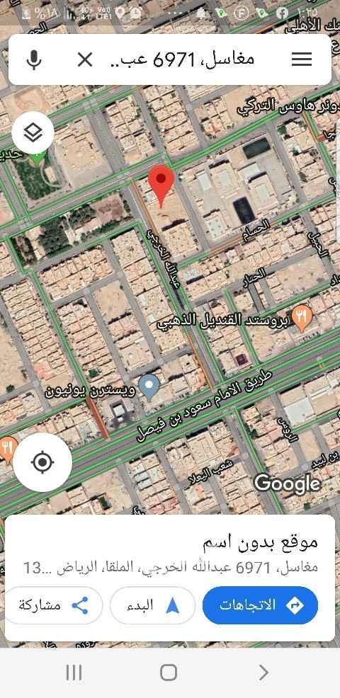 أرض للبيع في شارع العمرة ، حي الملقا ، الرياض ، الرياض