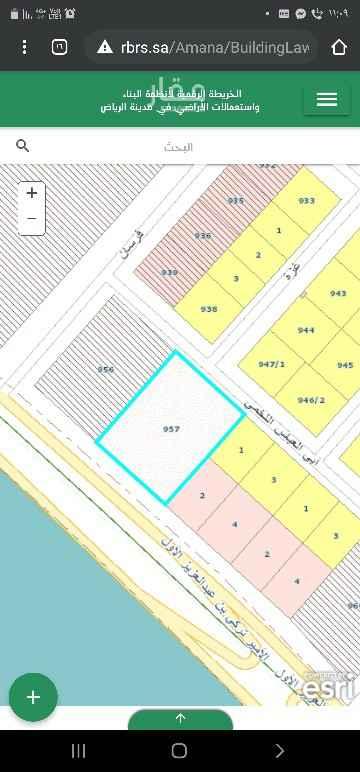 أرض للبيع في طريق الأمير تركي بن عبدالعزيز الأول ، حي المحمدية ، الرياض ، الرياض