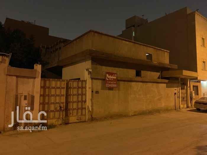 أرض للبيع في شارع ابي البركات الانصاري ، حي الضباط ، الرياض