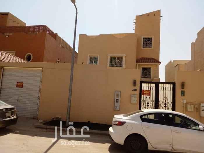 فيلا للإيجار في شارع الحاسي ، حي النفل ، الرياض