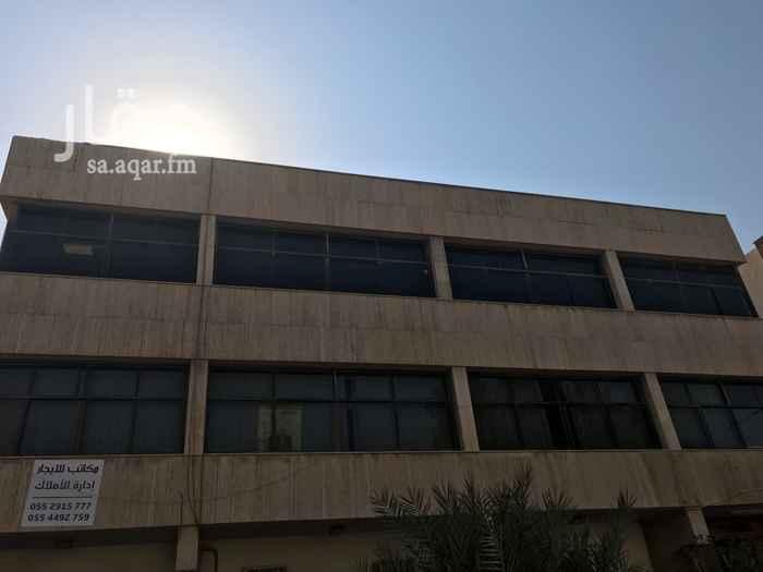 مكتب تجاري للإيجار في طريق عمر بن عبدالعزيز ، حي الزهراء ، الرياض
