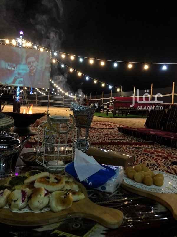 مخيم للإيجار في شارع خالد بن يزيد ، حي النخيل ، جدة ، جدة