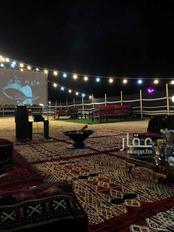 مخيم للإيجار في شارع عكاظ ، حي الرحاب ، جدة ، جدة
