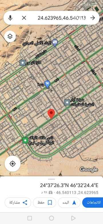 أرض للبيع في شارع النجمه ، حي ظهرة لبن ، الرياض