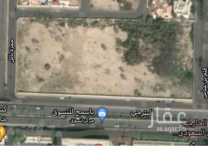 أرض للبيع في شارع البترجي ، حي الزهراء ، جدة ، جدة