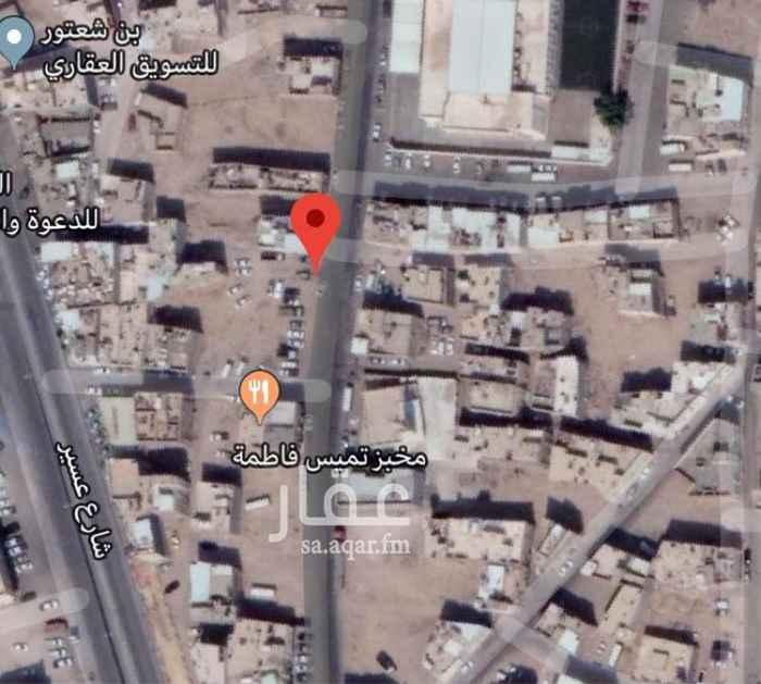 أرض للبيع في مدرسة الفاروق الابتدائية ، حي الشميسي ، الرياض
