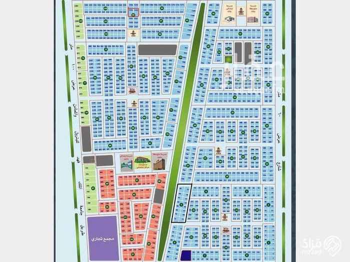 أرض للبيع في شارع الأمير أحمد ، حي القصور ، الظهران ، الدمام