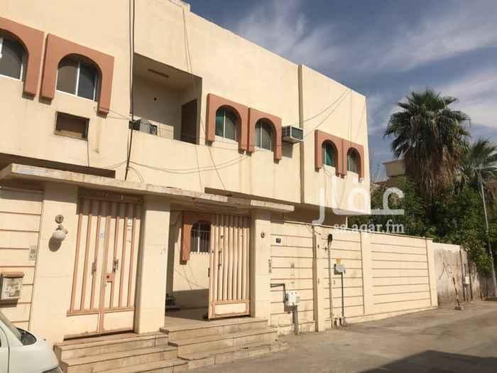 شقة للإيجار في شارع القاضي اياس ، حي الزهراء ، الرياض