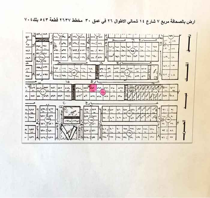 أرض للبيع في شارع نهر أم حبيب ، حي الصحافة ، الرياض