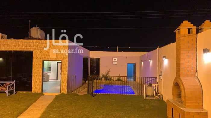 استراحة للإيجار في طريق علي البجادي ، حي الرمال ، الرياض ، الرياض