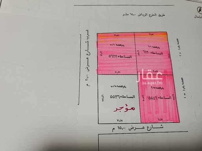 مستودع للإيجار في طريق الخرج ، حي المدينة الصناعية الجديدة ، الرياض ، الرياض