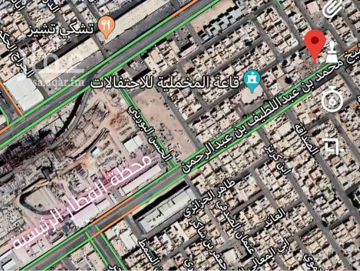 أرض للبيع في شارع الشيخ محمد بن عبداللطيف بن عبدالرحمن, السويدي الغربي, الرياض
