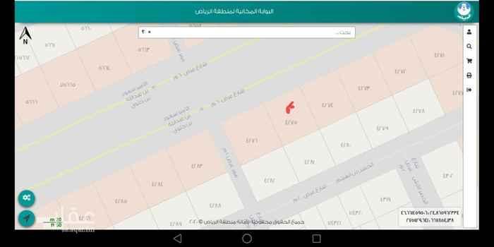 أرض للإيجار في شارع الامير سعود بن عبدالله بن جلوي ، الرياض ، الرياض