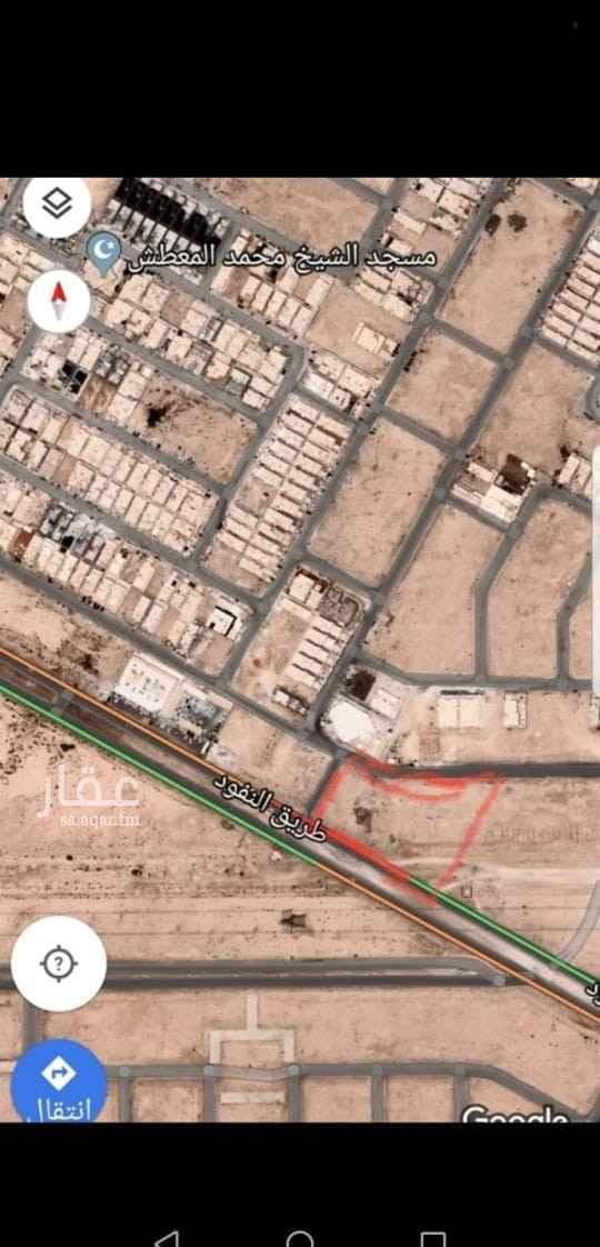 أرض للبيع في طريق النفود ، حي عكاظ ، الرياض ، الرياض