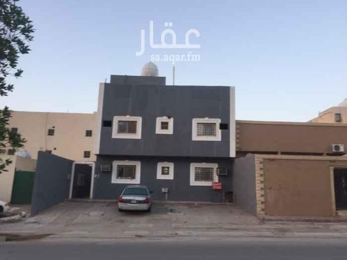 شقة للإيجار في شارع محايل ، حي الجنادرية ، الرياض