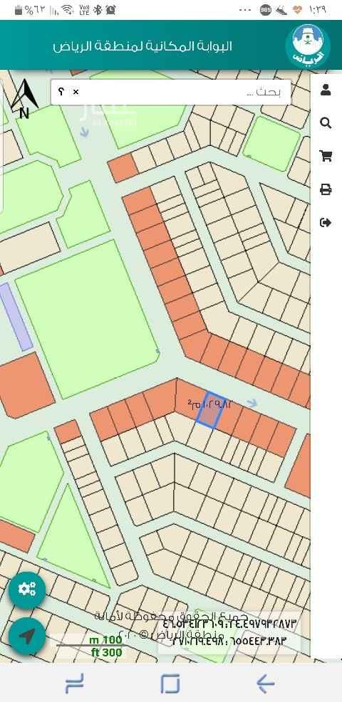 أرض للإيجار في ضاحية نمار ، الرياض ، الرياض