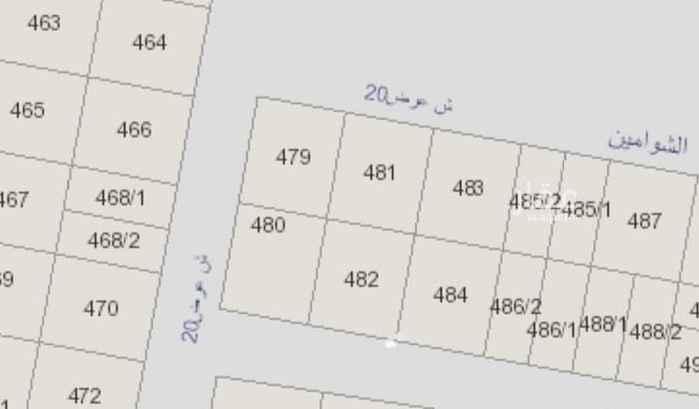 أرض للبيع في شارع المحثل ، حي القدس ، الرياض