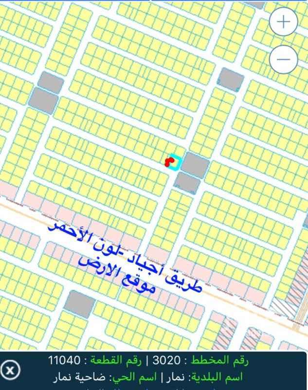 أرض للإيجار في طريق جبل أجياد, الرياض