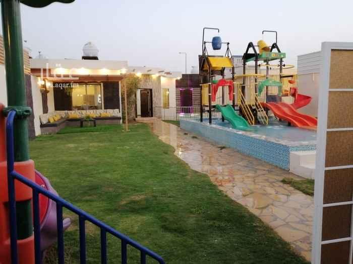 استراحة للإيجار في شارع ابرهيم بن علي العياشي ، حي الرمال ، الرياض ، الرياض