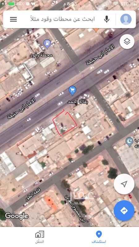 أرض للبيع في شارع الامام ابي حنيفة ، حي العريجاء الغربية ، الرياض