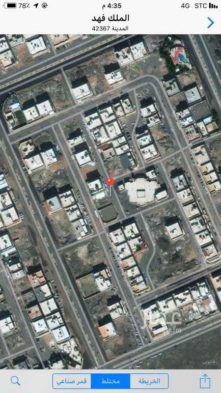 أرض للبيع في شارع مرثد بن نجبه ، حي الملك فهد ، المدينة المنورة