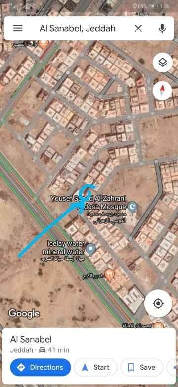 أرض للبيع في حي السنابل ، جدة