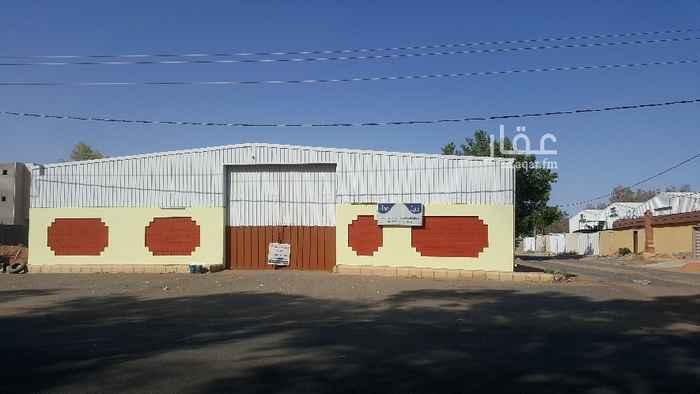 مستودع للإيجار في حي منطقة الزراعية ، تبوك ، تبوك