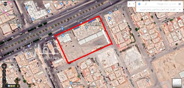 أرض للبيع في طريق الامام سعود بن عبدالعزيز بن محمد الفرعي ، حي النزهة ، الرياض