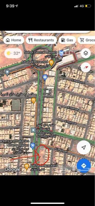 أرض للبيع في شارع المشتل ، حي الحزم ، الرياض ، الرياض