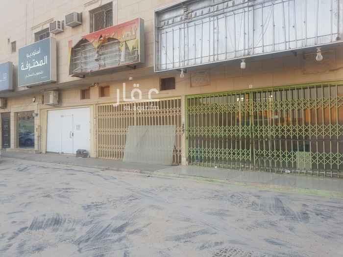 محل للإيجار في شارع الامير سلمان بن محمد بن سعود ، حي الصحافة ، الرياض