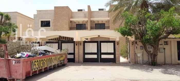 فيلا للإيجار في شارع ابراهيم الزيادي ، حي الورود ، الرياض ، الرياض